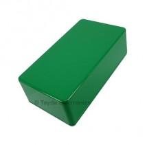 125B Style Aluminum Diecast Enclosure Green