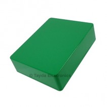 1590BB Style Aluminum Diecast Enclosure Green