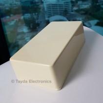 125B Style Aluminum Diecast Enclosure CREAM