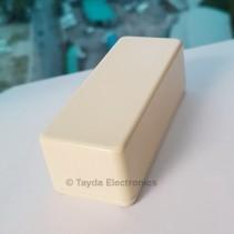 1590A Style Aluminum Diecast Enclosure CREAM