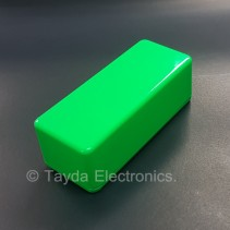 1590A Style Aluminum Diecast Enclosure Glowing Green