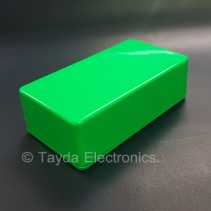 125B Style Aluminum Diecast Enclosure Glowing Green