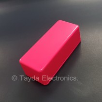 1590A Style Aluminum Diecast Enclosure Glowing Pink
