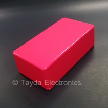 125B Style Aluminum Diecast Enclosure Glowing Pink