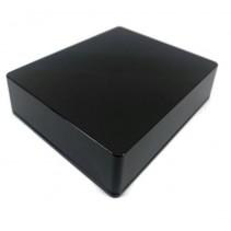 1590XX Style Aluminum Diecast Enclosure BLACK