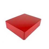1590XX Style Aluminum Diecast Enclosure RED