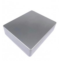 1590XX Style Aluminum Diecast Enclosure BALL SILVER
