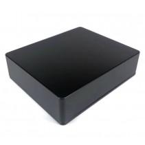 1590XX Style Aluminum Diecast Enclosure MATTE BLACK