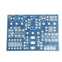 DH.F17 PCB PEDAL EFFECT DIY
