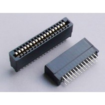 Edge Card Connector 62 Pins 2.54mm Dip Solder Type Without Ears