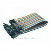 Premium Jumper Wires Female / Female 200mm Pack of 40