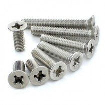 M3 Stainless Steel Flat Head Screw M3x15mm