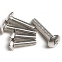 M3 Steel Truss Head Machine Screw 3x8mm