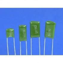 2.2nF 2200pF 100V 5% JFA Mylar Film Capacitors