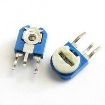 500 OHM Trimpot Variable Resistor 6mm Side Adj.