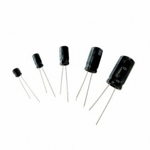 0.1uF 50V 105C Radial Electrolytic Capacitor 5x11mm