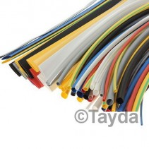 Length 20cm Black Heat Shrink Tubing 3.5mm