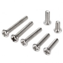 M3 Steel Screw Cross Round Head M3x4mm