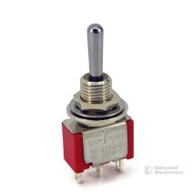 Mini Toggle Switch 1M Series SPDT On-Off-On