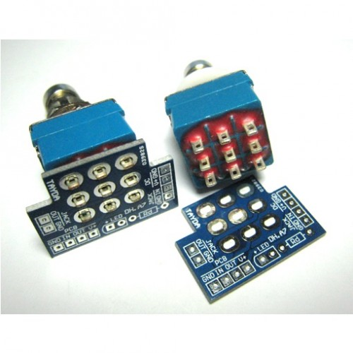Prime 3Pdt Footswitch Diy Pcb Wiring Board Switch Basic Electronics Wiring 101 Orsalhahutechinfo