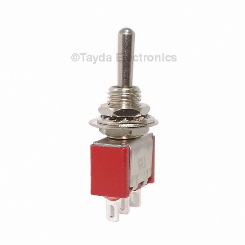 Mini Toggle Momentary Switch Spdt On Off On