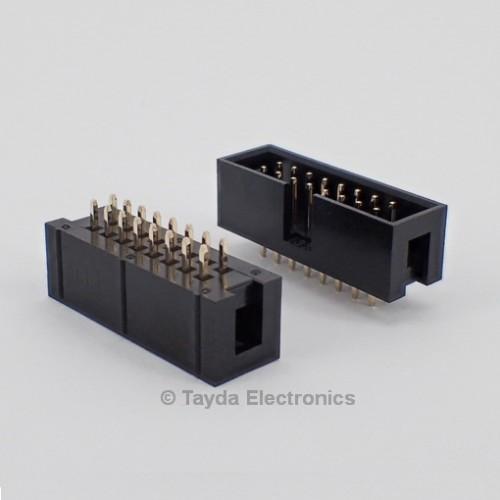 16 Pin Box Header Connector 2 54mm