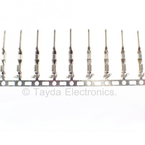 Male Dupont Terminal Connector Pins Crimp 2 54 MM