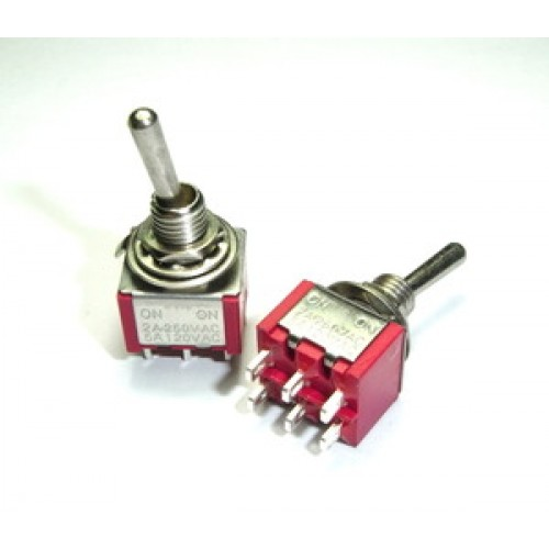 mini toggle switch dpdt on on rh taydaelectronics com mini toggle switch spdt on-on SPDT Toggle Switch Momentary Contact