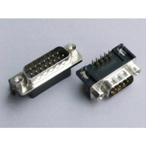 D sub connector male