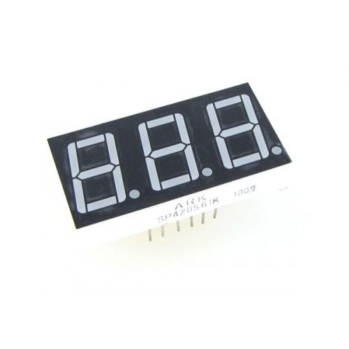 0.36 inch 3 digit 7 seg segment Common Cathode led display Red New