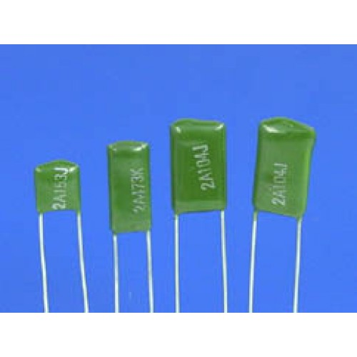 2 7nf 0 0027uf 100v 5 Mylar Film Capacitors