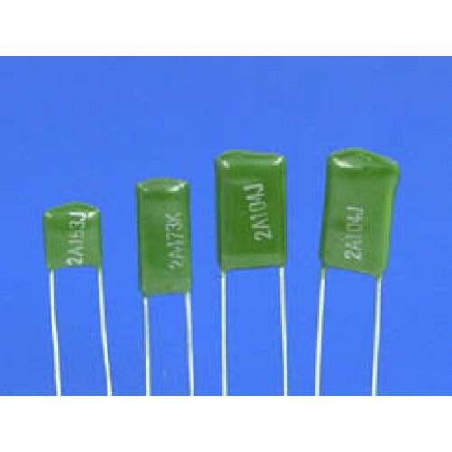 100nf 0 1uf 100v 5 Mylar Film Capacitors
