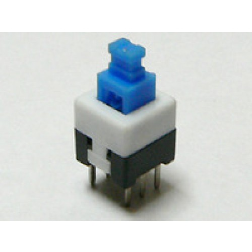 Push Button Switch Latching On Off Dpdt 0 5a 50vdc 8x8mm