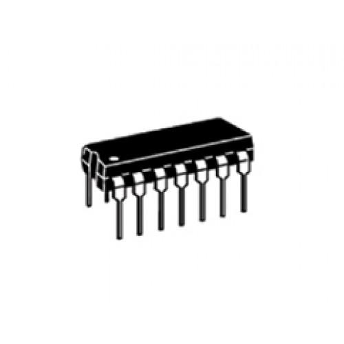 74hc14 7414 hex schmitt inverter cmos ttl ic