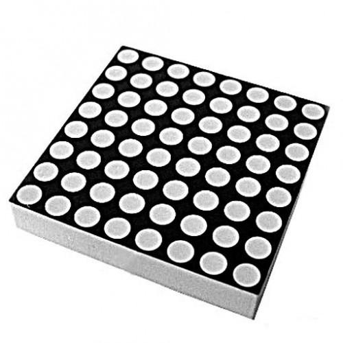 8x8 Dot Matrix LED Display Red 3mm Row Anode