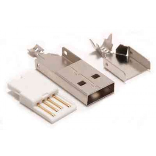 Types Of Usb Cable Ends : Usb type a male connector