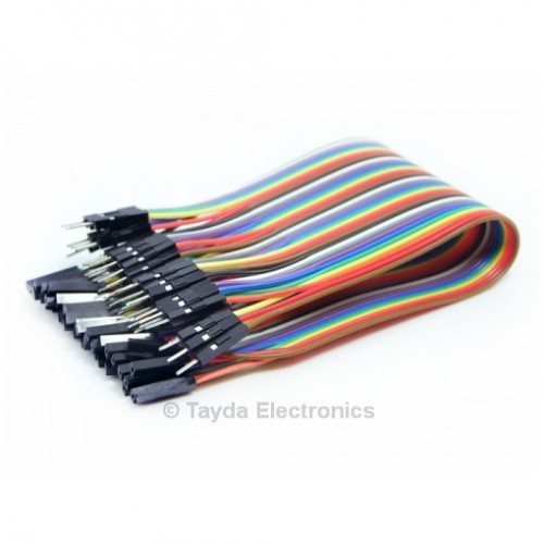 Male To Female Jumper Wires | Premium Jumper Wires Female Male 200mm Pack Of 40