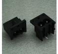 AC Power Inlet Socket 2 Pins