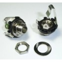 "6.35mm 1/4"" Mono Chassis Socket / Jack"