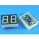LED Display 7 Segment 2 Digit 0.56 inch Common Anode Super Orange