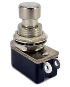 SPST Momentary Full Tone Push Button Stomp Foots / Pedal Switch Short Shaft