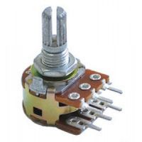 a100k 3x stereo potentiometer logarithmic axial 100kω for pcb